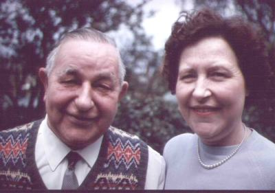 Nellie Hollyer and her father Bob